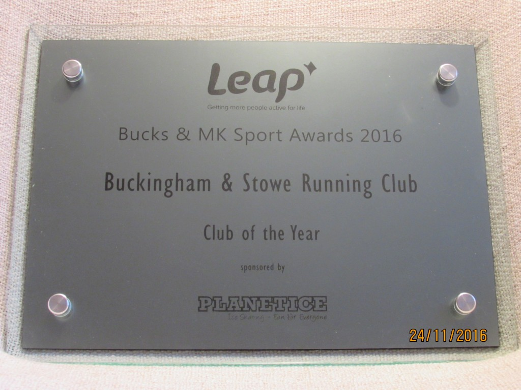 club-of-the-year-plaque